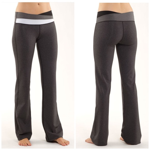 62707fc32 lululemon athletica Pants -  50⬇️Lululemon Astro Pant Heathers Black 6 Tall